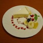ティーカフェ - アメリカンチーズケーキ