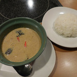 コカレストラン&マンゴツリーカフェ - 海老のグリーンカレー