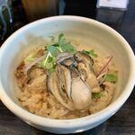 麺匠 むさし坊 - 限定『カキ飯350円』