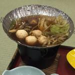 四季彩一力 - 川俣軍鶏のつみれ鍋