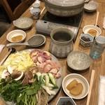 日本酒バー オール・ザット・ジャズ - 軍鶏鍋