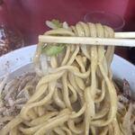 ラーメン二郎 - 麺 リフトアップ