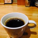 スタンドバー・キュベ - ランチでホットコーヒー(付属かどうか失念)