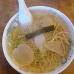 丸竹食堂 - 中華そば、450円