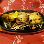 スンガバ - チキンティッカとフィッシュティッカ チキンティッカがやわらかジューシーで本当に美味しかった