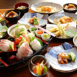 【充実したコース内容】旬の鮮魚をリーズナブルな価格でご提供!
