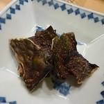瀬戸内料理 くにさだ - 牡蠣の松前焼き(昆布焼き)