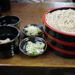 草笛 - くるみ蕎麦+追加つゆ~☆