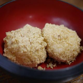 草笛 - 料理写真:胡桃おはぎ~☆
