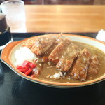 麦 - 料理写真:カツカレーです☆ 2019-1124訪問