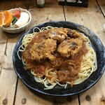 スパゲッティ専門店 タブキ - トマトチキンのスパゲティ