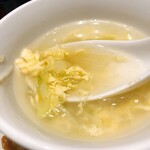 個室中華 頤和園 - スープ