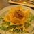 ワイン&マスタードA - 料理写真:大人のポテトサラダ 燻製の薫りで