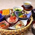 和食処 薩摩 - 料理写真:当店一押しの週替りランチ「薩摩かご膳」