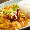タイ料理研究所 - 料理写真:タレーパッポンカリー