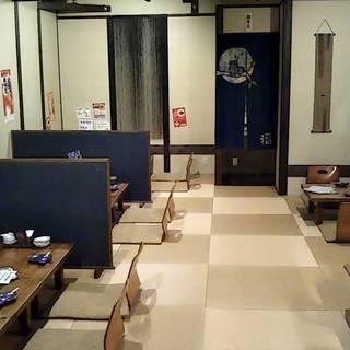 人気の個室でゆったりリラックス◎仕事帰りに寛ぐ和空間