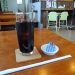 満ぷく処 くぅ - ドリンクは食後にアイスコーヒーを選びました