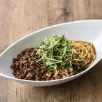 白胡麻坦々麺(汁なし)