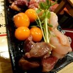 なかの食鶏 - 『コーチン親鶏セット』(税抜き998円)