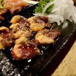 なかの食鶏 - シンゾウ造り