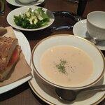120508595 - スープはクラムチャウダー