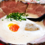 120512411 - 濃厚ふわとろチャーシュー麺