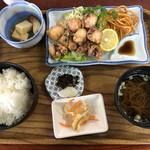 120512905 - タコ天ぷら定食
