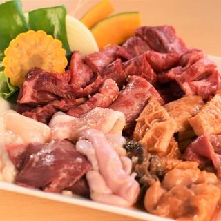 和牛を中心とした、上質なお肉をリーズナブルにお楽しみ下さい◎