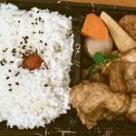 寿し居酒屋 松 - 生姜焼弁当