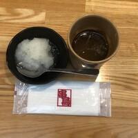 串鳥-無料スープに無料大根おろし