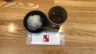 串鳥 - 無料スープに無料大根おろし