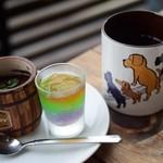 'Anuenue - デザート+コーヒー