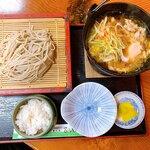 乃しろ庵 - 料理写真:つけそば鍋