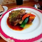 Daurade - 鶏もも肉のディアボラ風