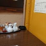 三日月食堂 - 壁とあげピーナッツ