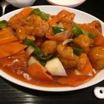 中華料理 福満亭 - 酢豚