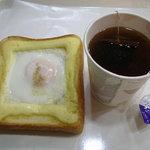 ルパ - エッグトーストとダージリンティー