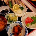 みなと食堂 - 目光定食1300円