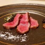 にくにはにくの 肉料理と和食 - ☆しっとり和牛のステーキ(*^^)v☆