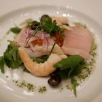 ホテルオークラレストラン新宿 ワイン&ダイニング デューク - 魚介とハーブのセビーチェ