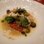 ホテルオークラレストラン新宿 ワイン&ダイニング デューク - 真鯛とアサリの蒸し焼き アンチョビとケッパー風味