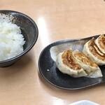 ラーメン めん丸 - 餃子5個セット