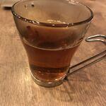 BISTRO うしすけ - 最後にお茶のサービス。