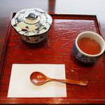 Cafe さかゑや - 抹茶ゼリー \450-