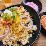 南インド家庭料理 インダスレイ - ハイデラバードビリヤニ(チキン)