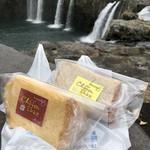 道の駅 原尻の滝 - 料理写真:シフォンケーキ