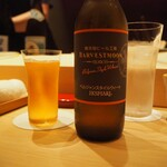 たかおか - ドリンク写真:舞浜ビール!ハーベストムーン。
