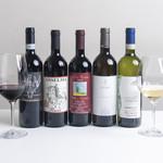 イル バンビーノ奥沢 - グラスワインの1例