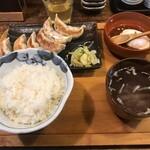 肉汁餃子のダンダダン - 肉汁餃子ライス