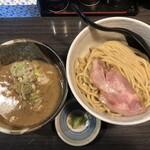 つけ麺 陽 - 料理写真:・濃厚塩つけ麺 (並) 850円 ・無料トッピング わさび 0円